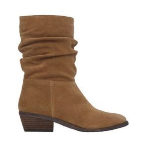 Jessica Simpson Gilford Suede Slouch Boho Boots